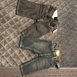 Two baby jean pants